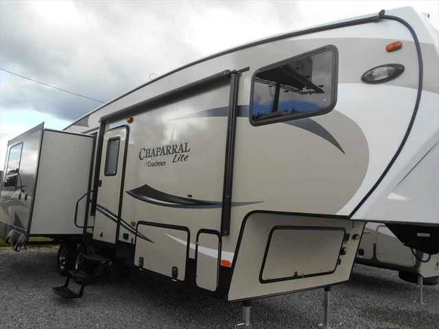 2016 New Coachmen Chaparral Lite 29mks Fifth Wheel In