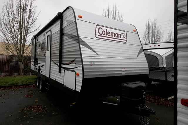 2016 new coleman coleman cts244bhwe travel trailer in for Coleman s fish market