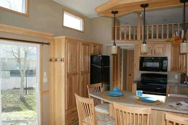 2016 New Dutch Park Homes MONTEREY ISLAND KITCHEN DOUBLE LOFT FLA