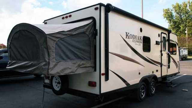 Brilliant 2016 New Dutchmen Kodiak Express Expandable 222ES Pop Up