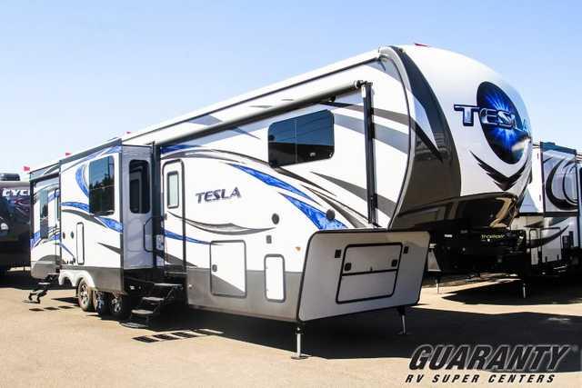 Tesla Toy Hauler >> 2016 New Evergreen Rv Tesla 3970 Toy Hauler In Oregon Or