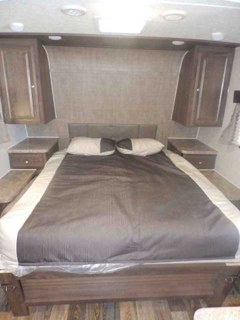 2016 New Forest River 2504s 1 Slide Rear Bunks Front
