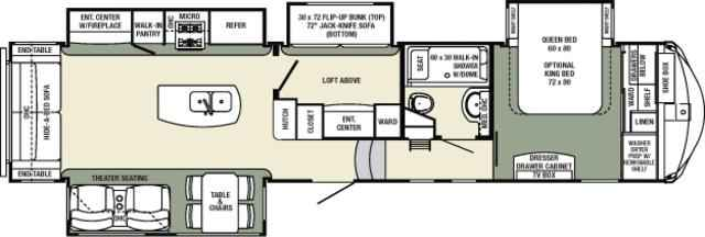 2016 New Forest River Columbus Compass 377mbc Fifth Wheel
