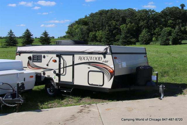 2016 New Forest River Rockwood High Wall Hw276 Pop Up