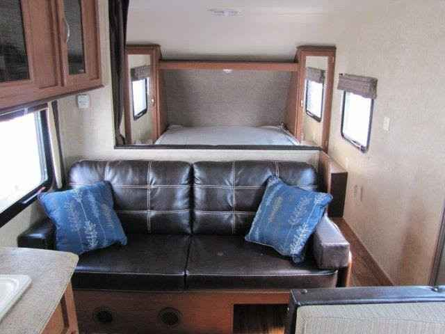 2016 New Forest River Wildwood 261bhxl Travel Trailer In
