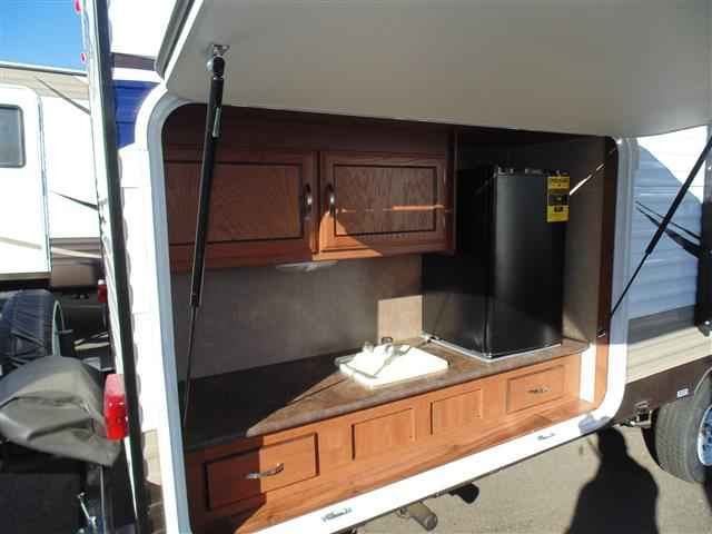 2016 New Forest River Wildwood 281qbxl Travel Trailer In