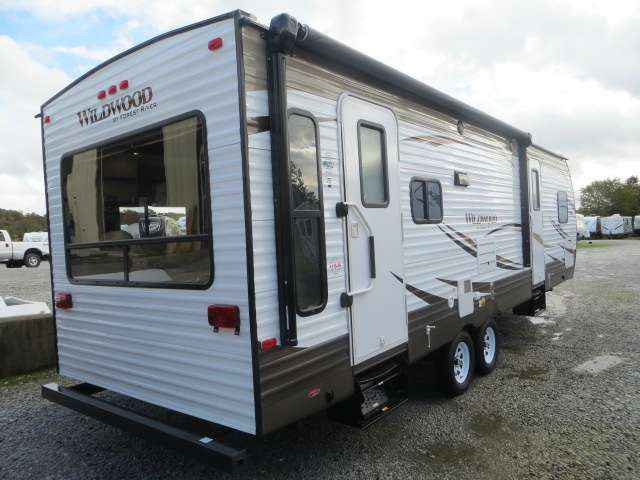 2016 New Forest River Wildwood 28rlds Travel Trailer In