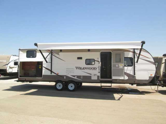 2016 New Forest River Wildwood Wdt30kqbss Bunkhouse Travel