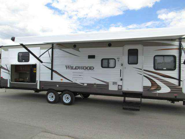 2016 New Forest River Wildwood WDT31KQBTS-63 BUNKHOUSE ...