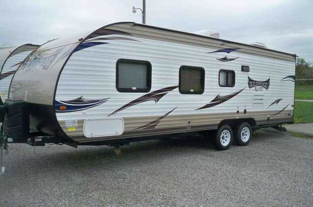 2016 New Forest River Wildwood X Lite 261 Bhxl Travel