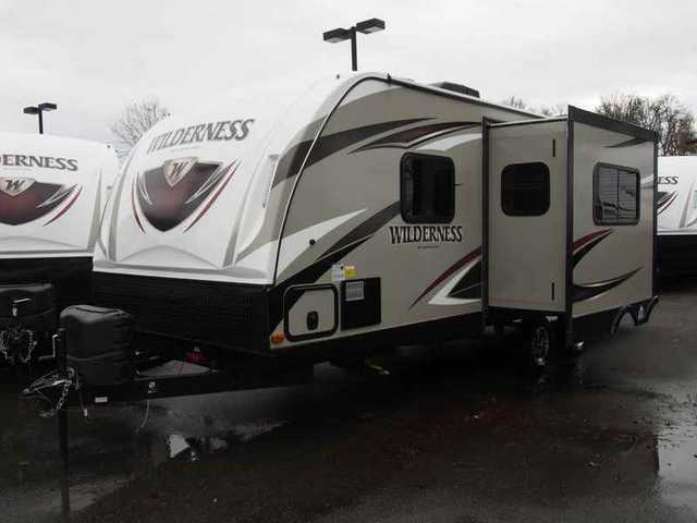 2016 New Heartland Wilderness Wd 2475 Bh Travel Trailer In