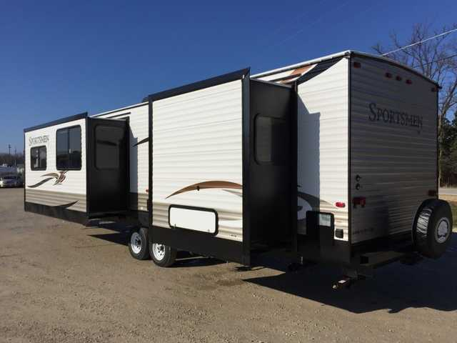 2016 New Kz Rv Sportsmen 362bh Destination Trailer Travel