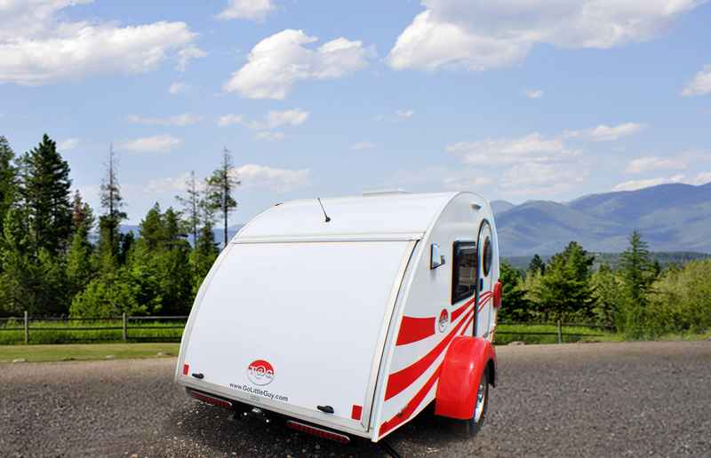 2016 New Little Guy Worldwide Tag Max Travel Trailer In