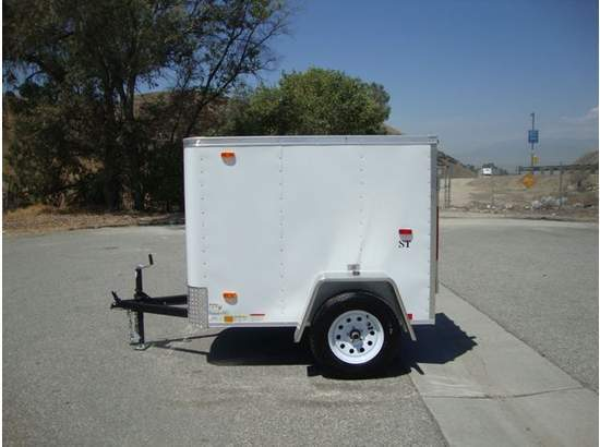 Small Cargo Trailers >> 2016 New Other Look Trailers Stlc4x6si2 4x6 Small Cargo Trailer Toy
