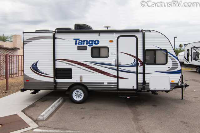 2016 New Pacific Coachworks Tango 16 Bb Travel Trailer In