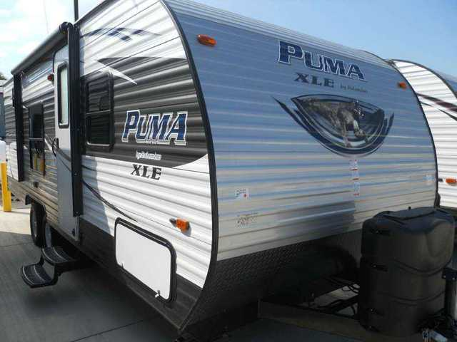 2016 New Palomino Canyon Cat 22rbc Travel Trailer In
