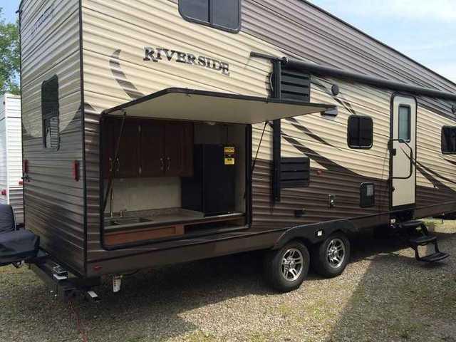2016 new riverside trailers loft coaches 30loftk travel for Loft rv