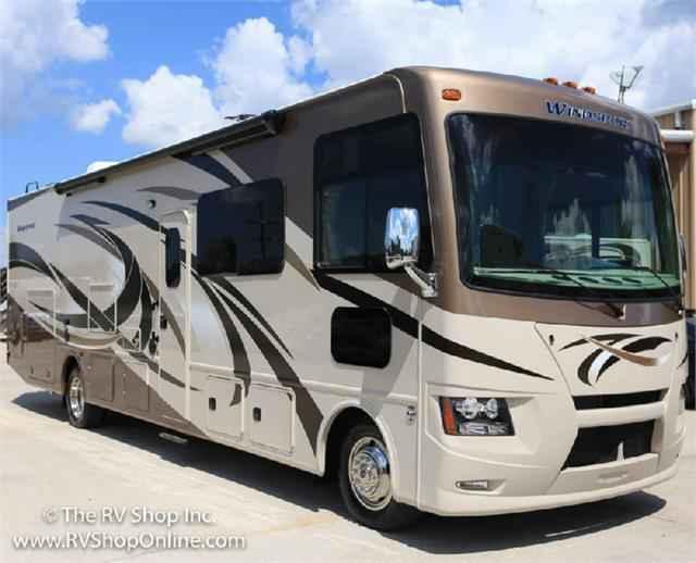 2016 New Thor Motor Coach Windsport 34f Class A In