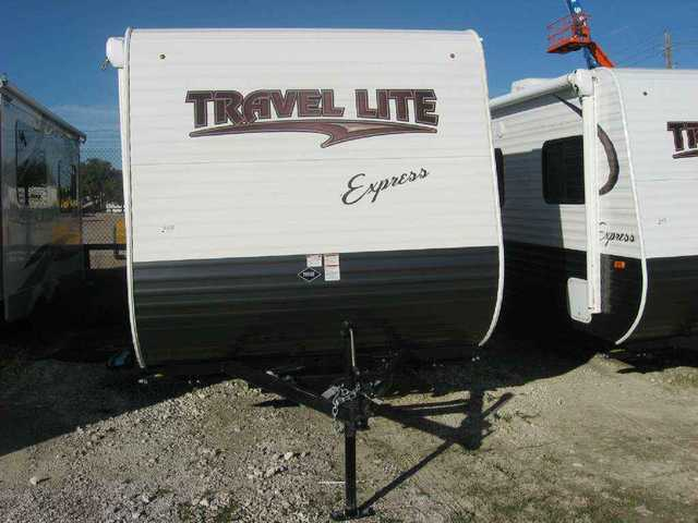 2016 New Travel Lite Express 19qbh Travel Trailer In