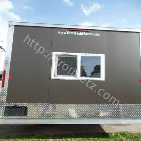 2016 New Voyager Industries Yetti 8x16 Travel Trailer In Minnesota Mn