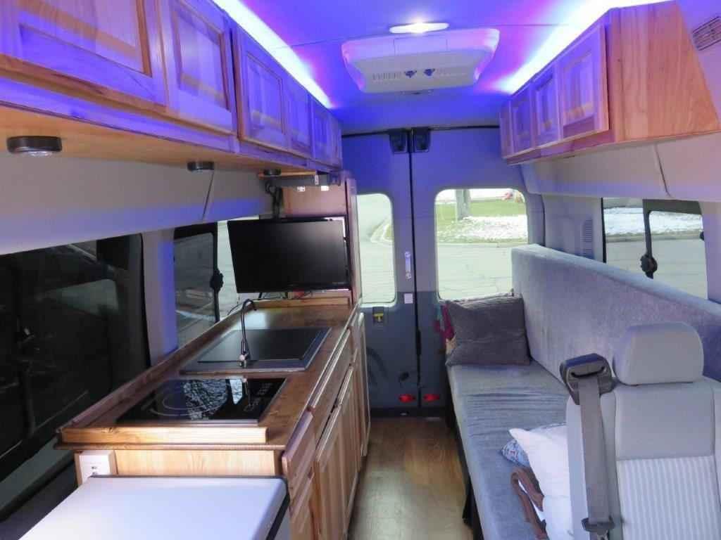 2016 Used Ford Transit Custom Camper Van Class B In