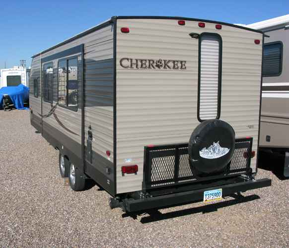 2016 Used Forest River Cherokee Grey Wolf 254Q Travel
