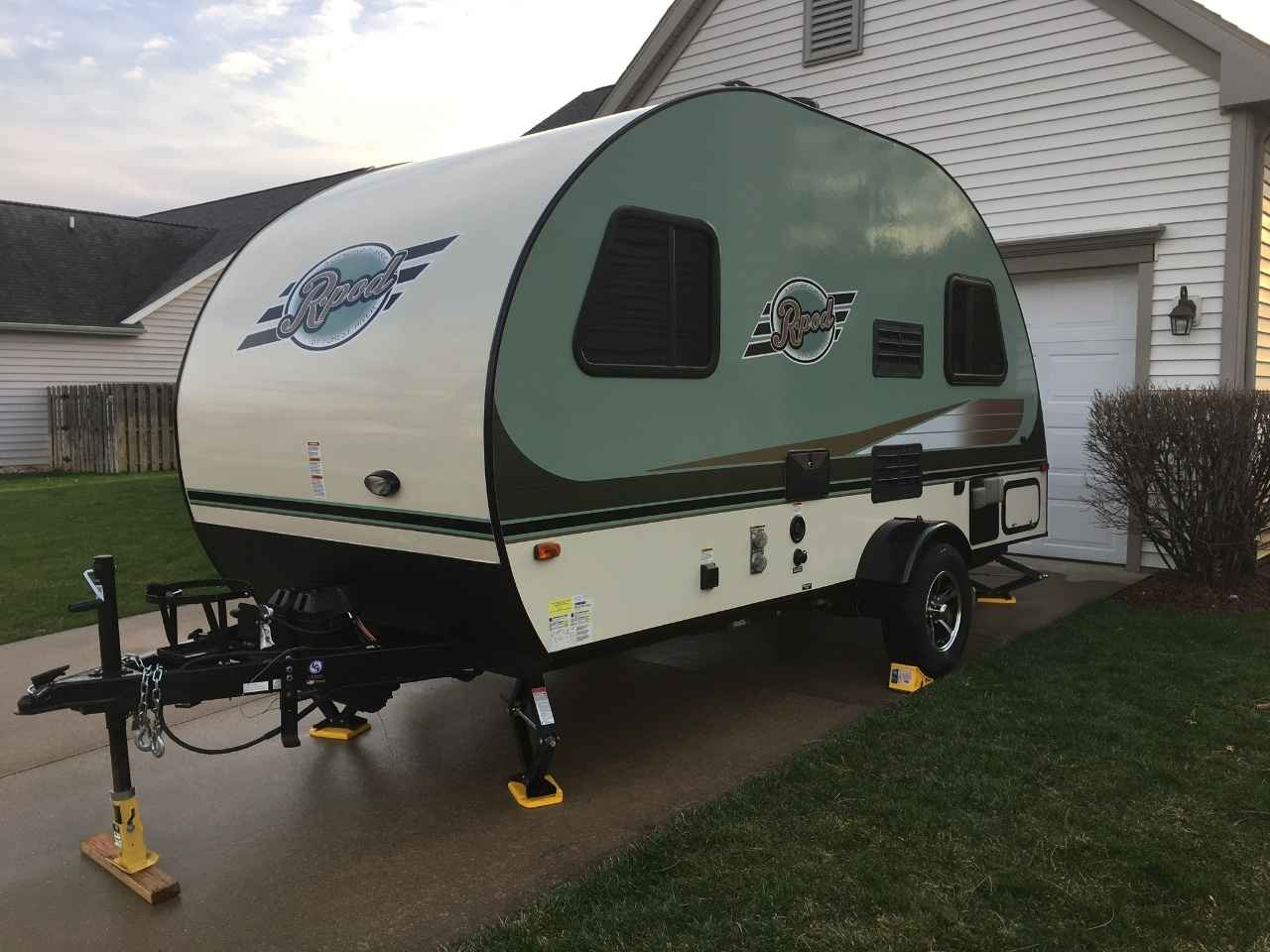 R Pod Weight >> 2016 Used Forest River R-POD 171 Travel Trailer in Michigan MI