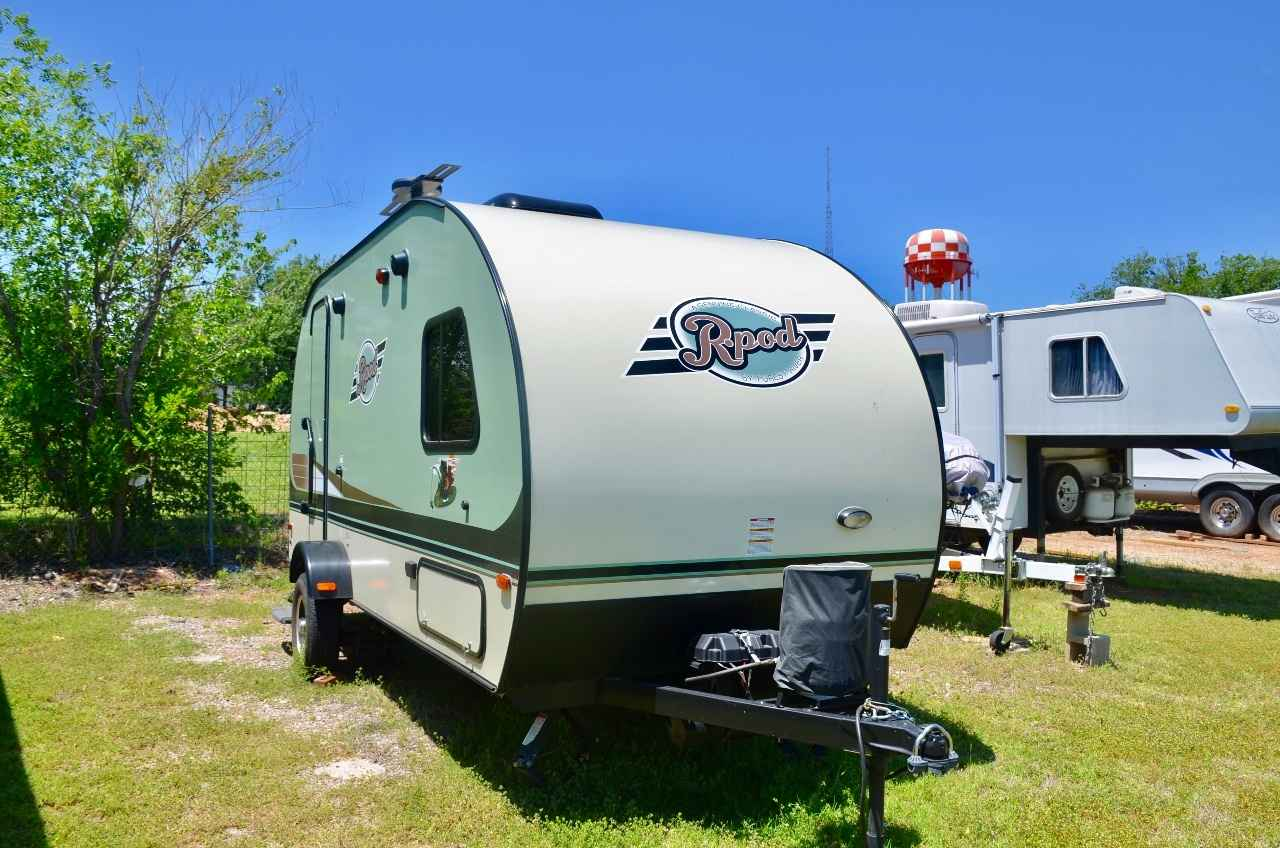 2016 Used Forest River R Pod 179 Travel Trailer In Oklahoma Ok