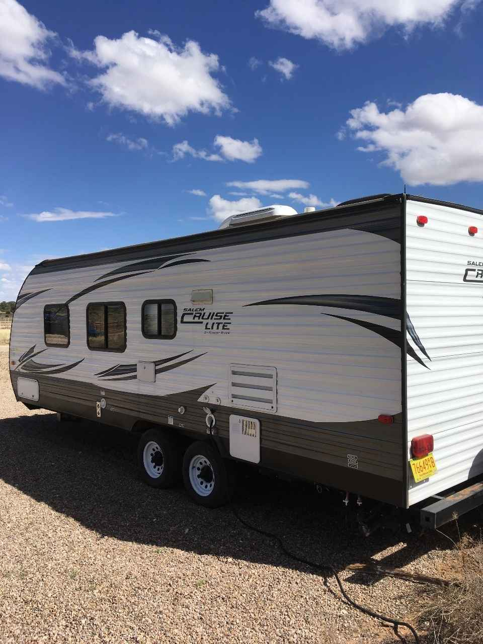 2016 used forest river salem cruise lite t241qbxl travel trailer in new mexico nm. Black Bedroom Furniture Sets. Home Design Ideas
