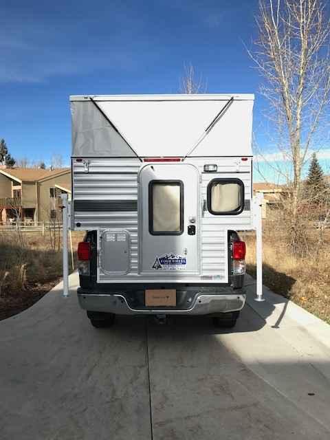 2016 Used Four Wheel Campers HAWK POP UP Truck Camper in Utah UT