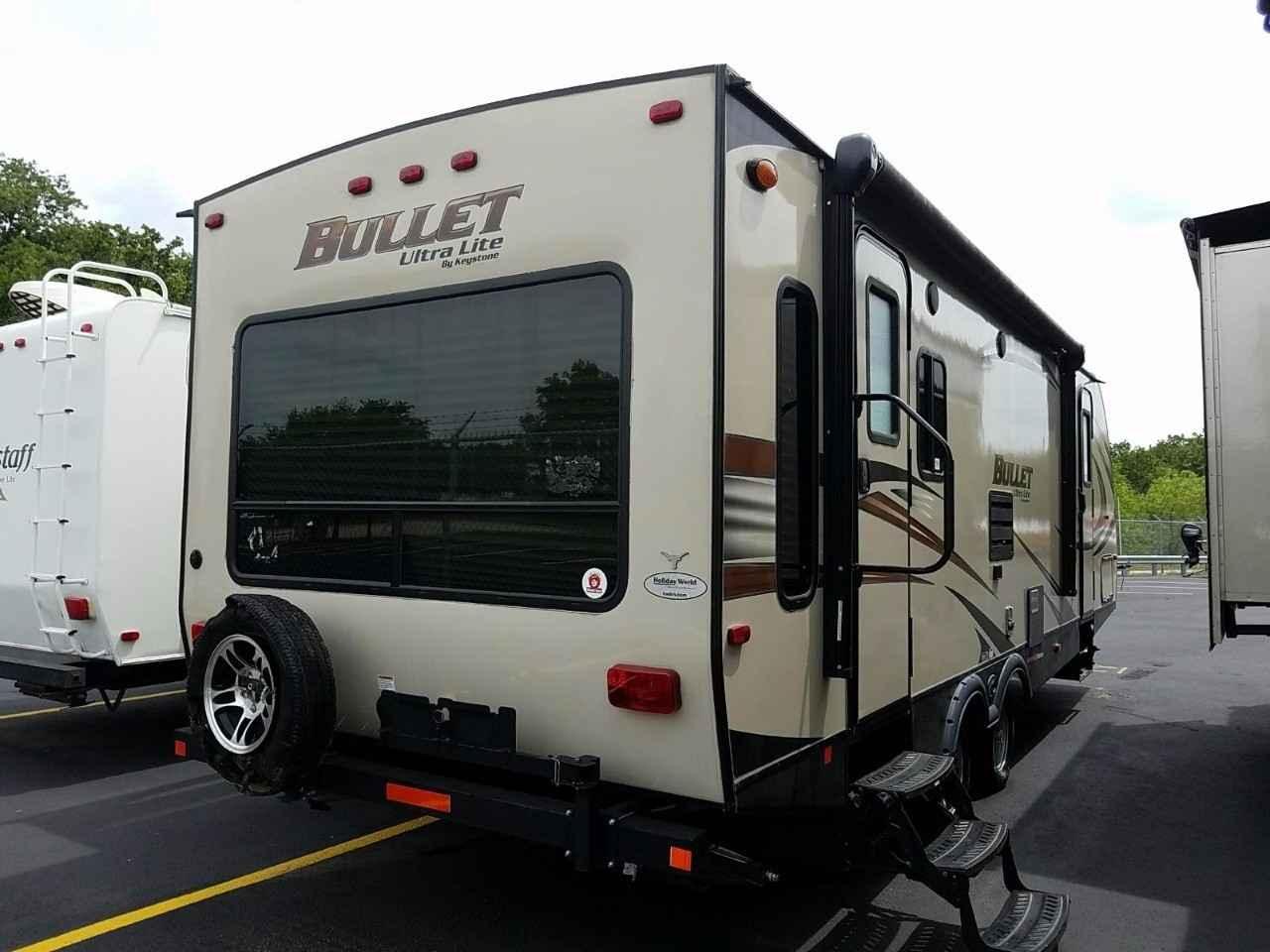 2016 Used Keystone Bullet 269rls Travel Trailer In Texas Tx