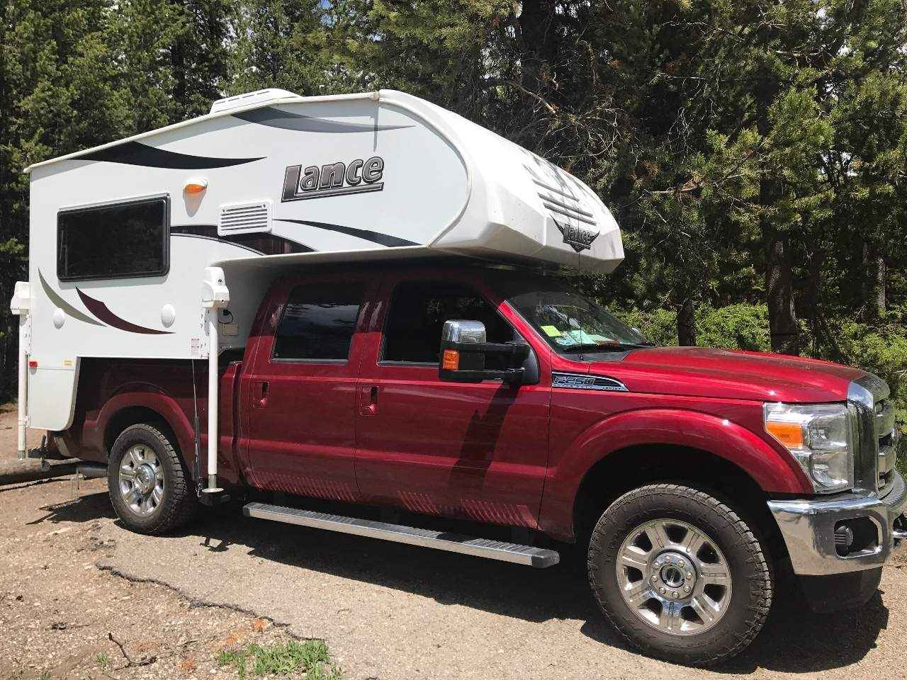 Vehicle Truck Campers : Used lance truck camper in alaska ak