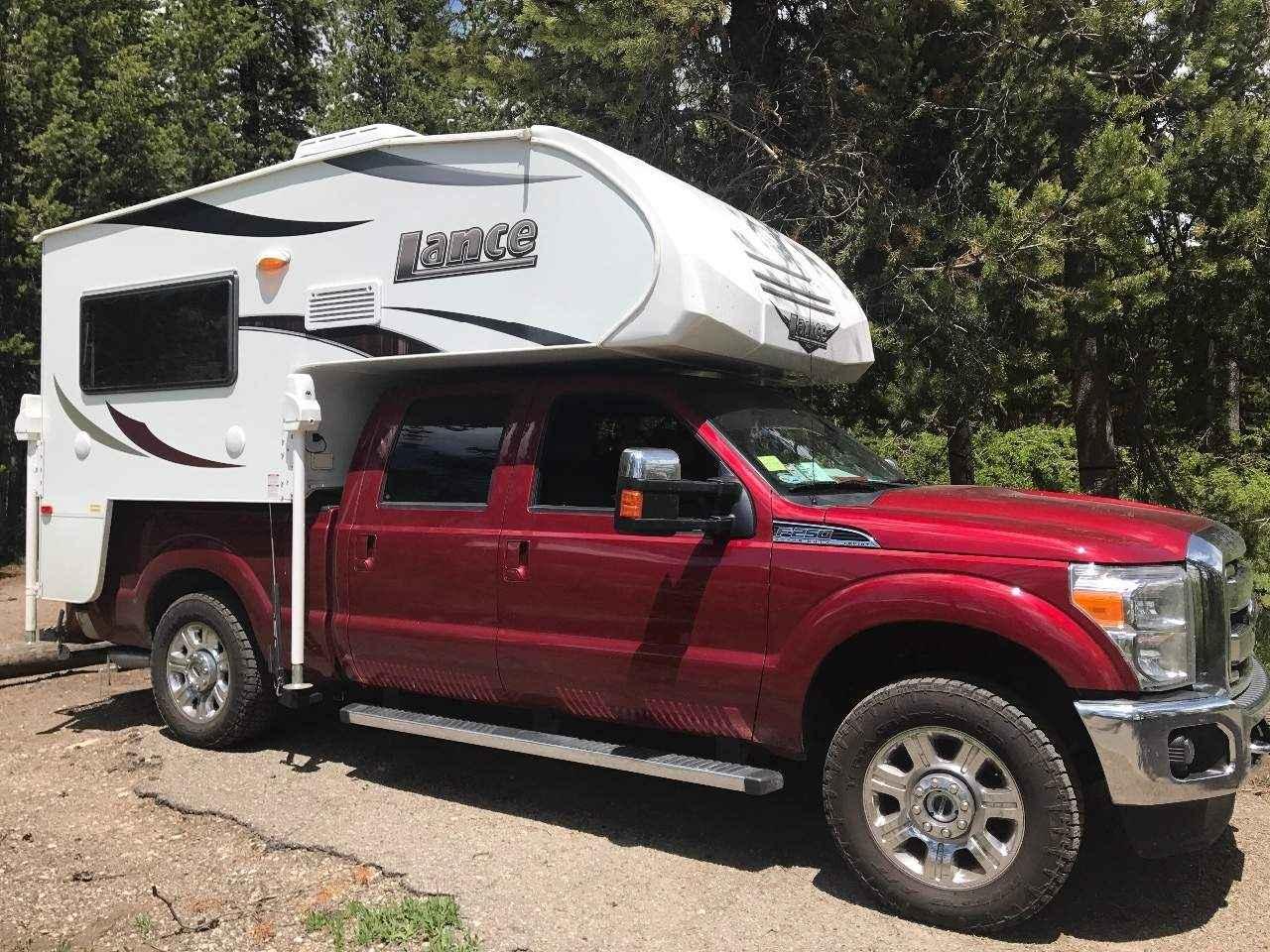 2016 Used Lance Truck Camper Truck Camper In Alaska Ak