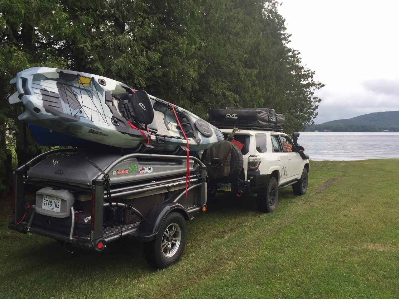 2016 Used Sylvansport GO CAMPER AND UTILITY TRAILER COMBO ...