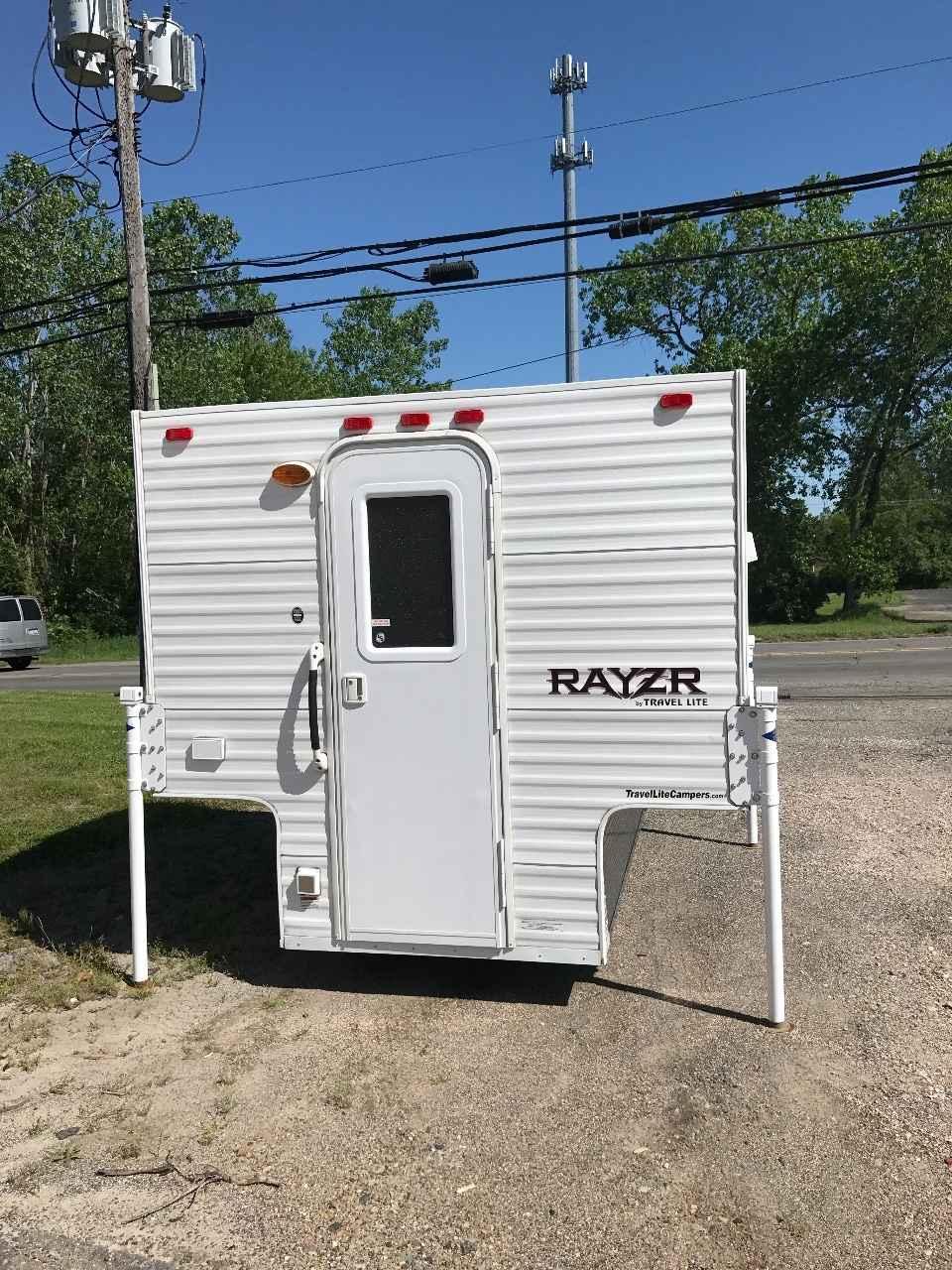 2016 Used Travel Lite Rayzr Truck Camper In Michigan Mi