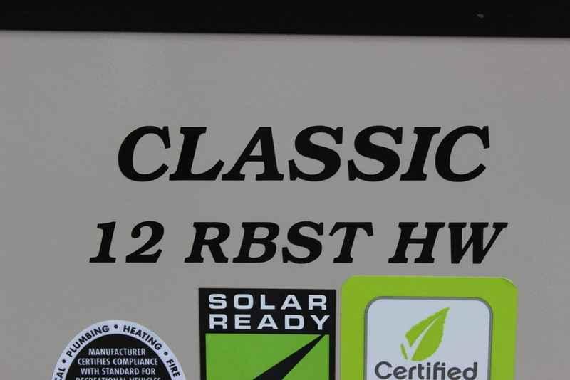 2017 New Coachmen Clipper Hardside C12rbsthw Popup Trailer