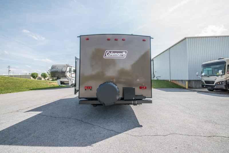 2017 new coleman light light 2305qb travel trailer in for Coleman s fish market
