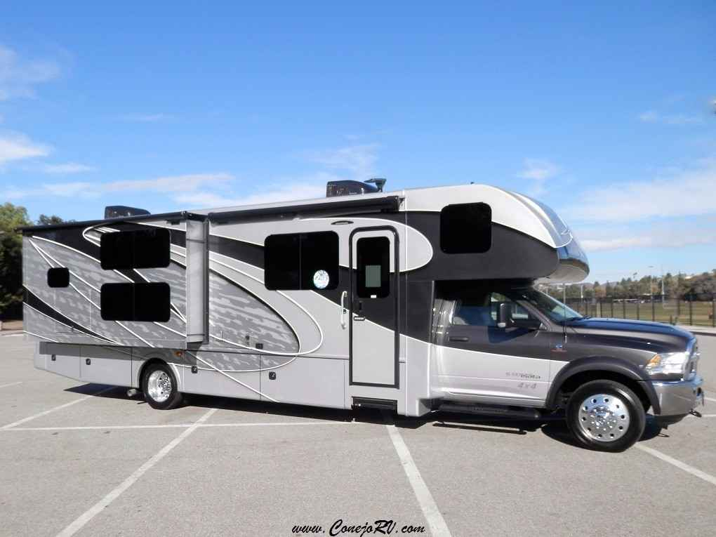 2017 new dynamax corp isata 5 35db 4x4 super c bunkhouse for Super c motor homes