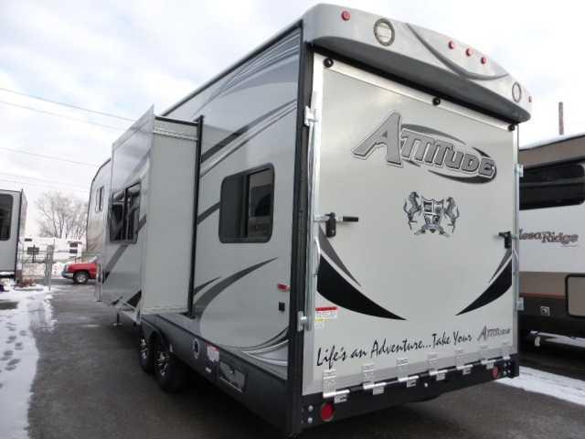 Amazing 2017 New Eclipse Attitude Wide Lite 28SAG Toy Hauler In Utah UT