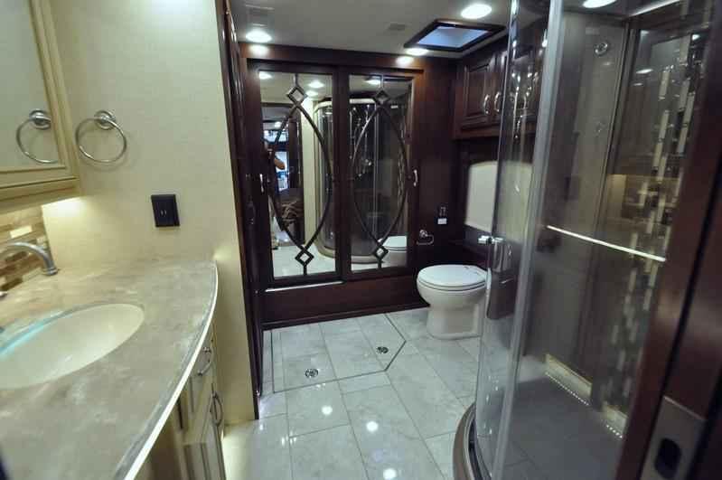2017 new entegra coach anthem 44a bath 1 2 luxury rv for for 2 bathroom class a rv