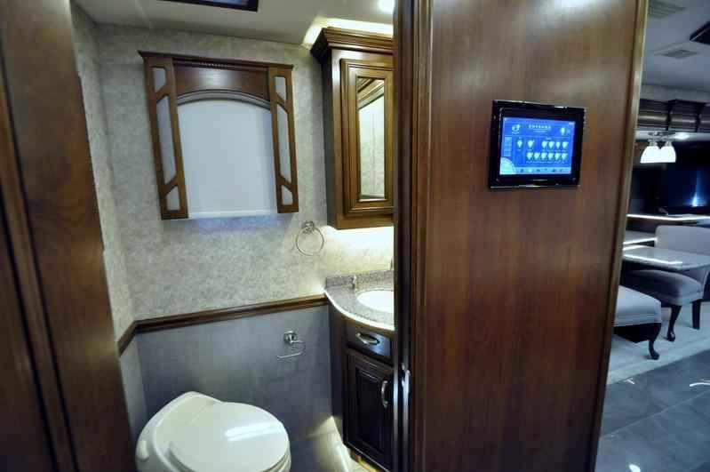 2017 new entegra coach anthem 44b bath 1 2 luxury rv for for 2 bathroom class a rv