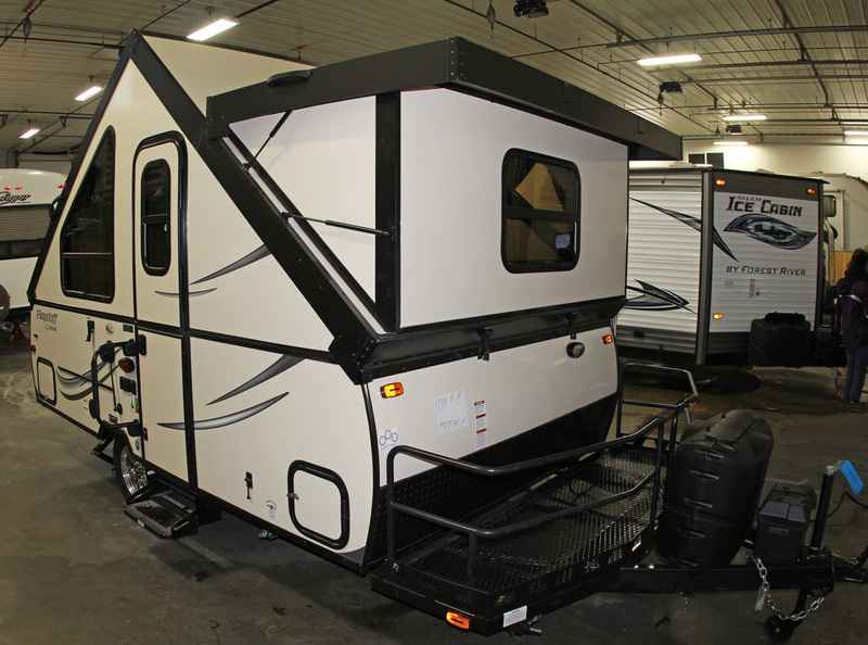 2017 New Forest River Flagstaff Hard Side Pop Up Campers