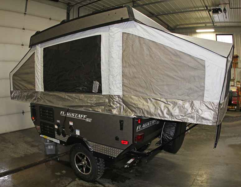 2017 New Forest River Flagstaff Tent Campers 176se Pop Up
