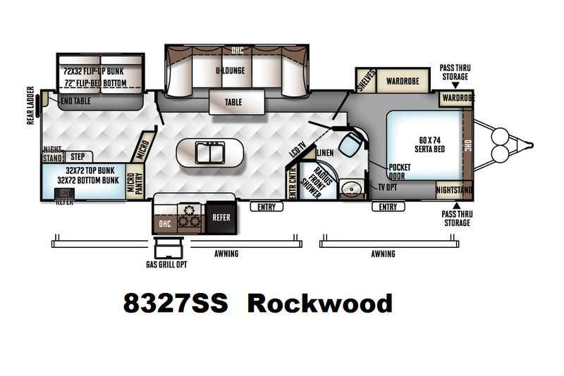 2017 New Forest River Rockwood Signature Ultra Lite Travel Trailer 8327ss Travel Trailer In Texas Tx