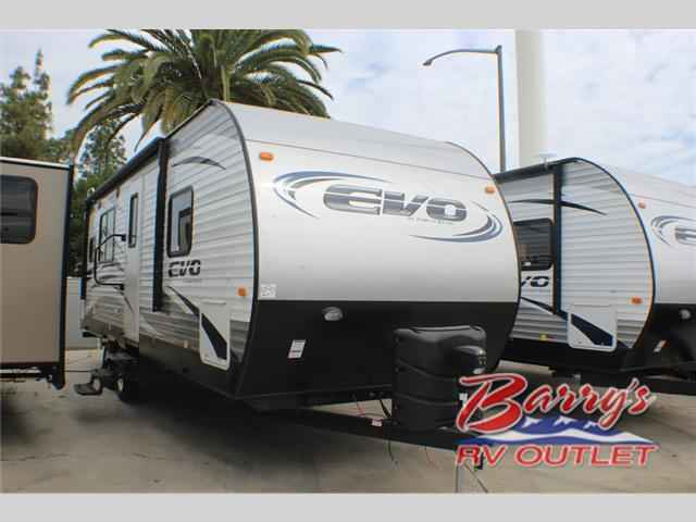 2017 New Forest River Rv Evo T2360 Travel Trailer In