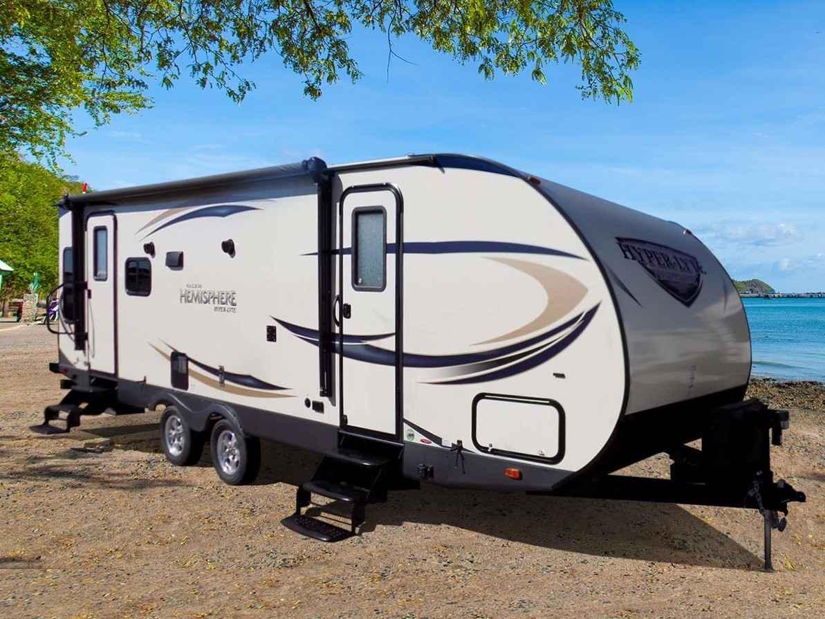 2017 New Forest River Salem Hemisphere 26RL Travel Trailer ...