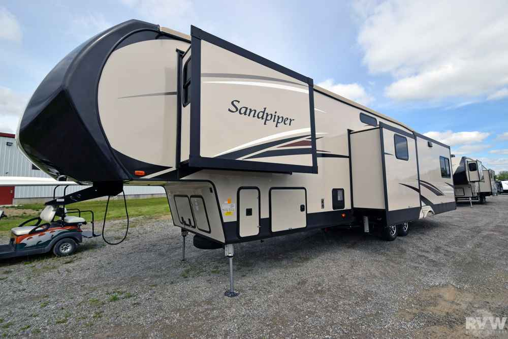 2017 New Forest River Sandpiper 372lok Fifth Wheel In Ohio Oh