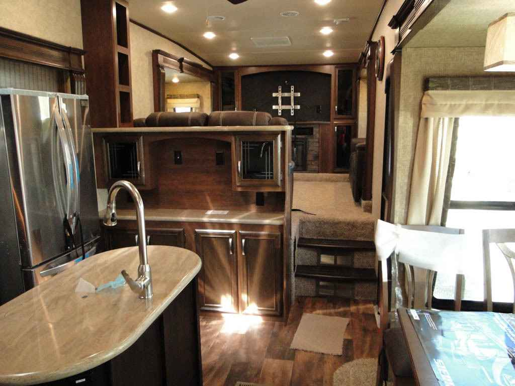 2017 New Forest River Sierra 377flik Bunk House Fifth Wheel