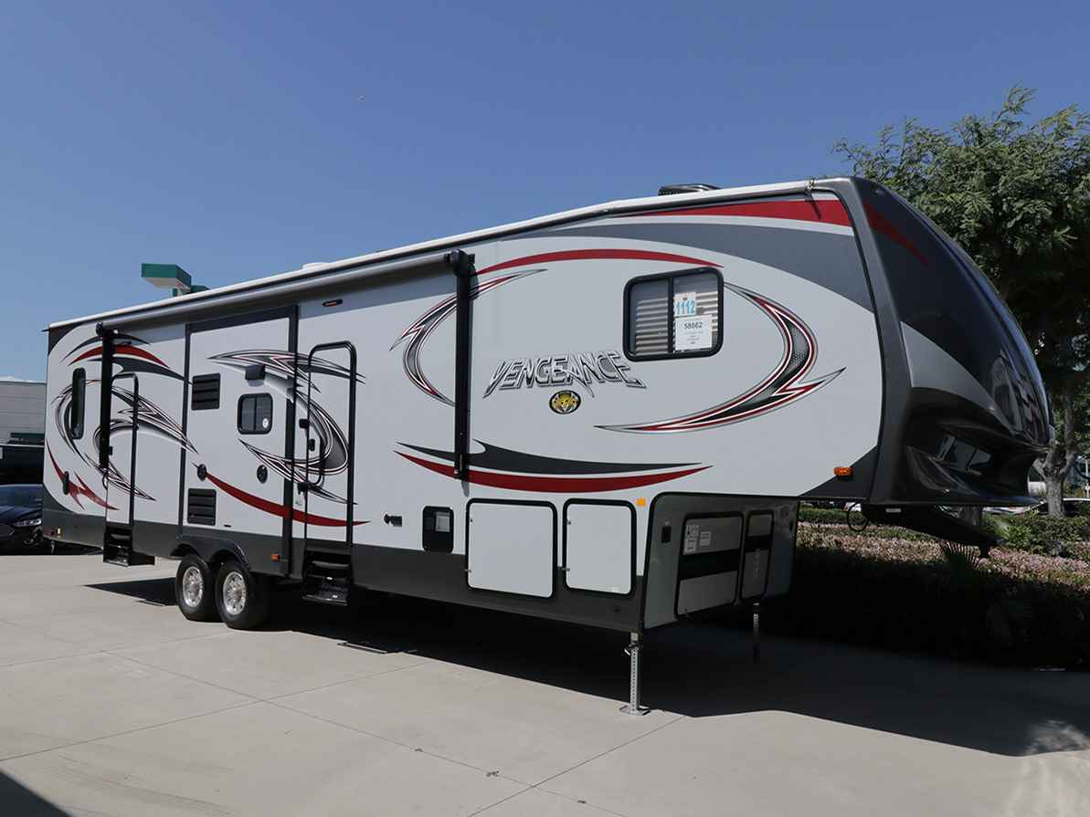 2017 New Forest River Vengeance 320a Toy Hauler In Arizona Az
