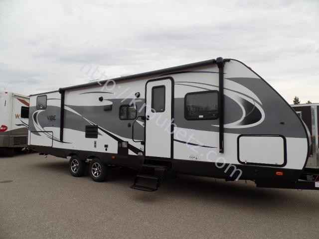 2017 New Forest River Vibe 287qbs Travel Trailer In